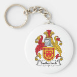 Sutherland Family Crest Keychains