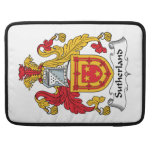 Sutherland Family Crest Sleeves For MacBook Pro