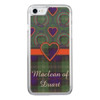 Sutherland Plaid Scottish tartan Carved iPhone 8/7 Case