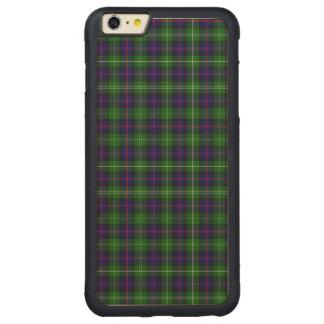 Sutherland Tartan Carved Maple iPhone 6 Plus Bumper Case
