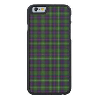 Sutherland Tartan Carved Maple iPhone 6 Slim Case