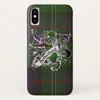 Sutherland Tartan Lion iPhone X Case
