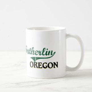 Sutherlin Oregon Classic Design Classic White Coffee Mug