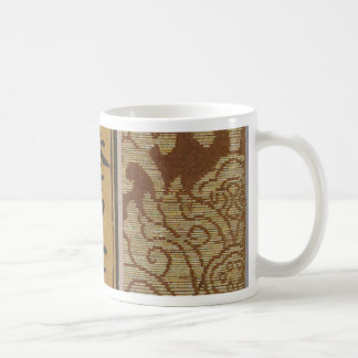 Sutra Cover with Large Flowers Coffee Mug