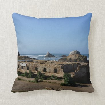 everydaylifesf Sutro Baths Ruins – San Francisco Pillow