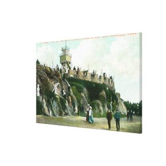 Sutro Heights Parapet Canvas Print