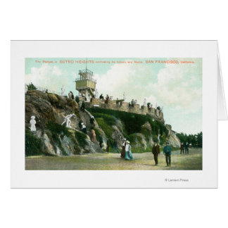 Sutro Heights Parapet Greeting Cards