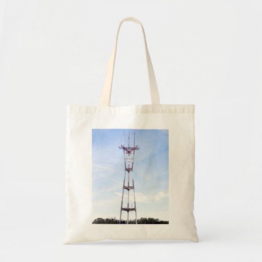 Sutro Tower Budget Tote Bag