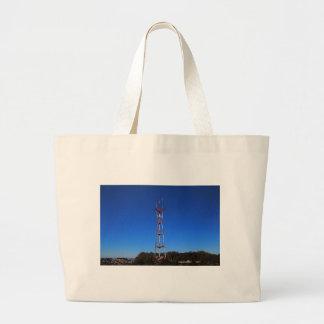 Sutro Tower-horizontal Large Tote Bag