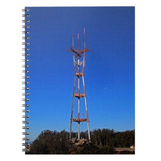 Sutro Tower-horizontal Notebook