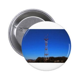 Sutro Tower-horizontal Pinback Button