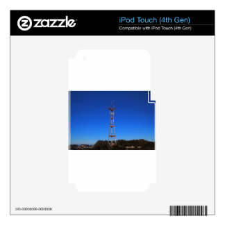 Sutro Tower-horizontal Skin For iPod Touch 4G
