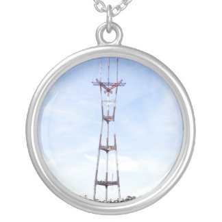 Sutro Tower Personalized Necklace