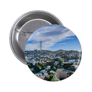 Sutro Tower Pinback Button