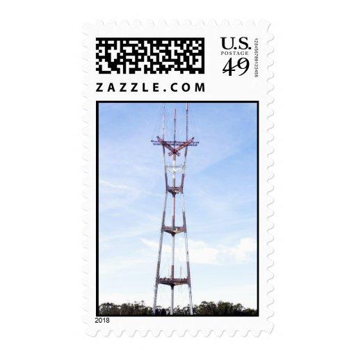 Sutro Tower Postage Stamp