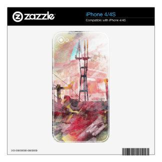 SutroMatic life - Sanfrancisco Electric Twin Peaks iPhone 4S Skin