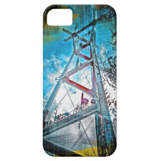 SutroTower Vintage dreams - TwinPeaks Sanfrancisco iPhone SE/5/5s Case
