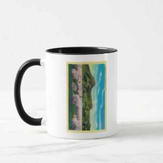 Sutter Buttes and Orchards in Bloom Mug