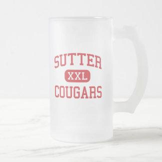 Sutter - Cougars - Middle - Folsom California Mug