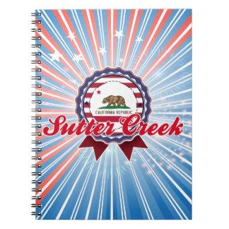 Sutter Creek, CA Spiral Note Book