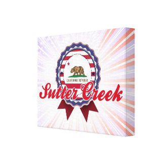 Sutter Creek, CA Stretched Canvas Prints