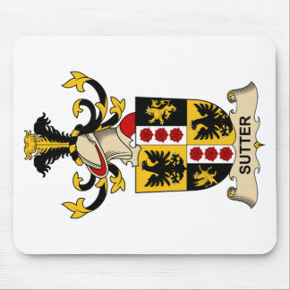Sutter Family Crest Mouse Pad