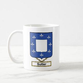 Sutter Family Crest Mugs