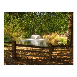 Sutter Fort Garden Post Card