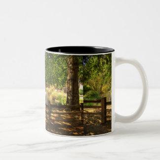 Sutter Fort Garden Two-Tone Coffee Mug