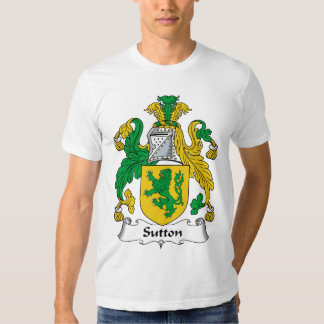 Sutton Family Crest Tee Shirt