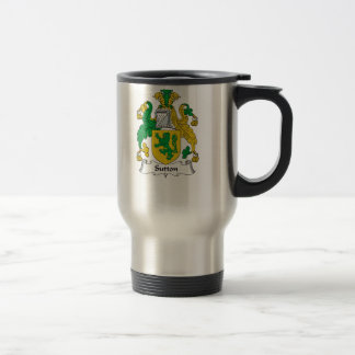 Sutton Family Crest Travel Mug