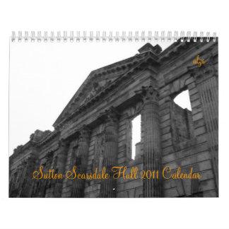 Sutton Scarsdale Hall 2011  Calendar