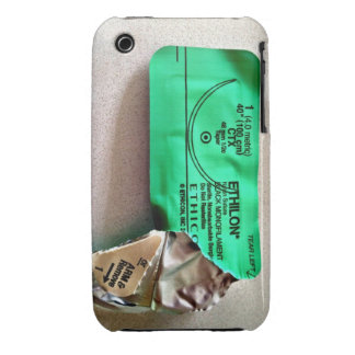 Suture wrapper Iphone Cover