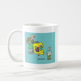 SUV Baby Carriage Coffee Mug