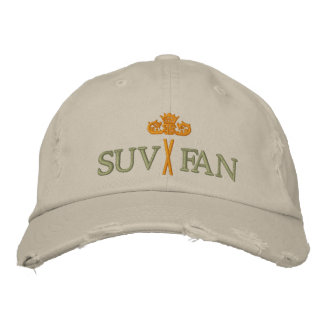 SUV FAN with Crown - 004 Embroidered Baseball Hat