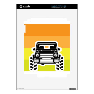 SUV Front iPad 2 Decal