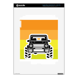 SUV Front Skin For iPad 3