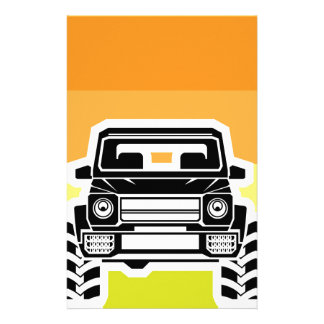 SUV Front Stationery