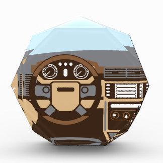 SUV Interior vector Acrylic Award