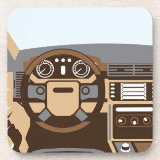 SUV Interior vector Coaster