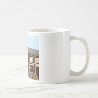 SUV Interior vector Coffee Mug