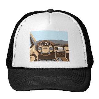 SUV Interior vector Trucker Hat