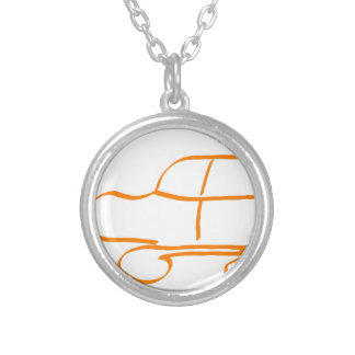 SUV stings one Round Pendant Necklace