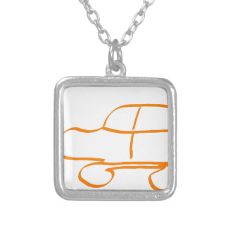 SUV stings one Square Pendant Necklace