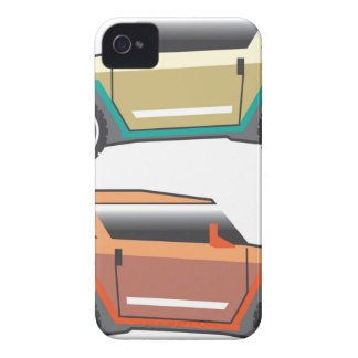 SUV vector edgy iPhone 4 Case-Mate Cases