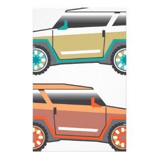 SUV vector edgy Stationery