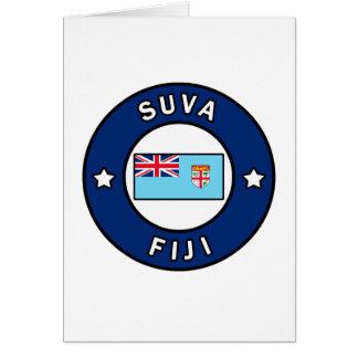 Suva Fiji Card