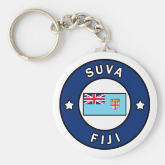 Suva Fiji Llavero Redondo Tipo Pin
