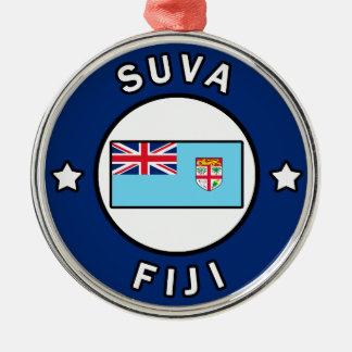 Suva Fiji Metal Ornament