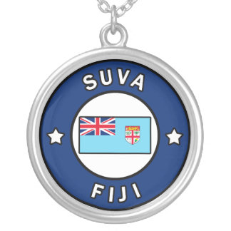 Suva Fiji Silver Plated Necklace